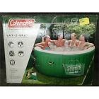 Coleman LAY-Z-SPA Indoor/Outdoor Inflatable Hot Tub, Green, 4-6 Adults, 120V *