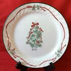 Corning Corelle Callaway Holiday Dinner Plates Lot of 4