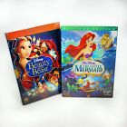 Brand New DVD Disney 2 Lot Beauty and the Beast and Little Mermaid