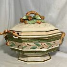 Fitz & Floyd Christmas Winter Wonderland Soup Tureen & Ladle NWOB