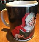 Coca-Cola Santa Claus Stoneware Coffee Tea Or Cocoa Mug 2002 Sakura Christmas