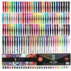 120 Gel Pens INDIVIDUALLY UNIQUE COLORS 50 MORE INK For Adult Coloring Book