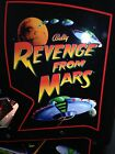 REVENGE FROM MARS PINBALL MACHINE----- Contact us for Shipping Quote