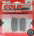 Hyosung XRX 400 Rear Sintered Brake Pads (2005) Goldfren