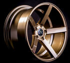 18x8 JNC 026 5x1143 35 Gloss Bronze Wheel New set4