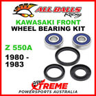 All Balls 25-1310 Kawasaki Z550A 1980-1983 Front Wheel Bearing Kit