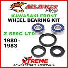 All Balls 25-1310 Kawasaki Z550C LTD 1980-1983 Front Wheel Bearing Kit