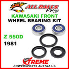 All Balls 25-1310 Kawasaki Z550D 1981 Front Wheel Bearing Kit