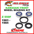 All Balls 25-1310 Kawasaki Z550F 1983-1984 Front Wheel Bearing Kit
