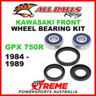 All Balls 25-1310 Kawasaki GPX 750R 1984-1989 Front Wheel Bearing Kit