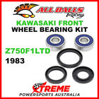 All Balls 25-1310 Kawasaki Z750F1LTD Z750F1 LTD 1983 Front Wheel Bearing Kit