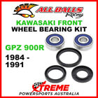 All Balls 25-1310 Kawasaki GPZ900R GPZ 900R 1984-1991 Front Wheel Bearing Kit
