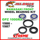 All Balls 25-1310 Kawasaki GPZ1000RX 1986-1987 Front Wheel Bearing Kit