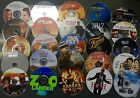 WHOLESALE LOT OF 100 DVD MOVIES ASSORTED DVDS MOVIES BULK MIXED USED MOVIES