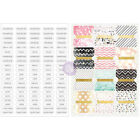 Prima Love Faith Scrap Planner Divider Tabs 12 Pack with Word Labels