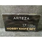 17 Piece Arteza 8023 Hobby Knife Set 13 Blades 3 Knives Cutting Mat
