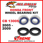 25-1653 Honda CB1300S CB 1300S 2005-2009 Front Wheel Bearing Kit