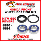25-1380 Honda NTV 650 Revere 1990-1994 Front Wheel Bearing Kit