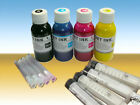 4x100ml sublimation Refill Ink for all Epson Compatible Refillable Cartridge Cis