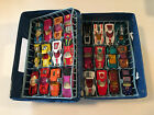 Vintage 24 Car Lot of Diecast Matchbox Lesney Superfast Used Condition incl Case
