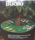 Bucilla NATIVITY Felt Christmas Tree Skirt Kit Holy Manger RARE 3576 Sterilized