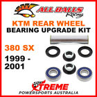 All Balls 25-1552 KTM 380SX 380 SX 1999-2001 Rear Wheel Bearing Upgrade Kit