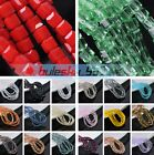 4mm 50 200pcs Cube Square Faceted Crystal Glass Charms Loose Spacer Beads DIY