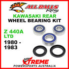 All Balls 25-1280 Kawasaki Z440A Z 440A LTD 1980-1983 Rear Wheel Bearing Kit