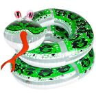 60 Giant Inflatable Coil Snake Python Zoo Animal Beach Pool Party Float Fun Toy