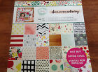 Paper Pack 48 Sheets 12x12 Scrapbook Craft Card Documentary American Crafts Art