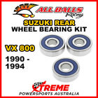 All Balls 25-1327 Suzuki VX800 VX 800 1990-1994 Rear Wheel Bearing Kit