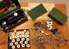 Lot of Vintage Singer Sewing Machine Attachments, Bobbins and More