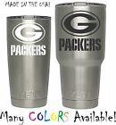 NFL Green Bay Packers Decal for YETI Tumbler 20 30 Ozark RTIC Sticker Football