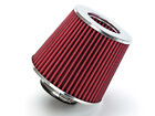 275 Cold Air Intake Dry Filter Universal RED For Geo Metro Tracker
