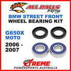 All Balls 25-1379 BMW G650X Moto 2006-2007 Front Wheel Bearing Kit