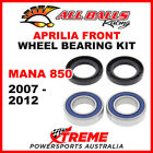 All Balls 25-1569 Aprilia Mana 850 2007-2012 Front Wheel Bearing Kit