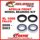 All Balls 25-1569 Aprilia SL 1000 Falco 2000-2003 Front Wheel Bearing Kit
