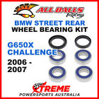 All Balls 25-1672 BMW G650X Challenge 2006-2007 Rear Wheel Bearing Kit