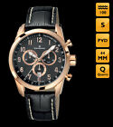 Candino Chronograph Watch C4409 Black / Gold