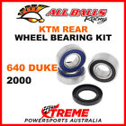 All Balls 25-1283 KTM 640 Duke 2000 Rear Wheel Bearing Kit