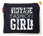 Jeans Vintage Style MakeUp Pouch Cosmetic Bag Case Travel Accessory Fashion Girl