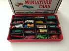 Lot of 40 HTF Diecast Matchbox Lesney Vehicles Used Condition incl Vintage Case