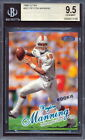 1998 Ultra #201 Peyton Manning Rookie Card Graded BGS 9.5 (NS)