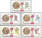 Yemen(UK) 620A-624A (complete issue) unmounted mint / never hinged 1968 Gold Med