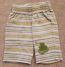 GYMBOREE UP TO 7LBS PREEMIE FROG STRIPED PANTS ADORABLE REBORN