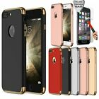 Protective Hard Thin Case Cover + Tempered Glass For Apple iPhone 7 7 Plus