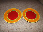 Set of 2 Dansk CARIBE Aruba Dinner Plates