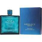Versace Eros by Versace Men 6.7 6.8 oz 200ml EDT Cologne Spray NEW IN BOX SEALED