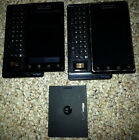 Lot of 2 Motorola Droid A855 Verizon Android GPS QWERTY Keyboard Cell Phone