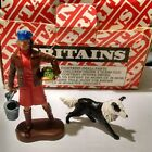 Britains Farmers Wife and Sheep Dog 1971
